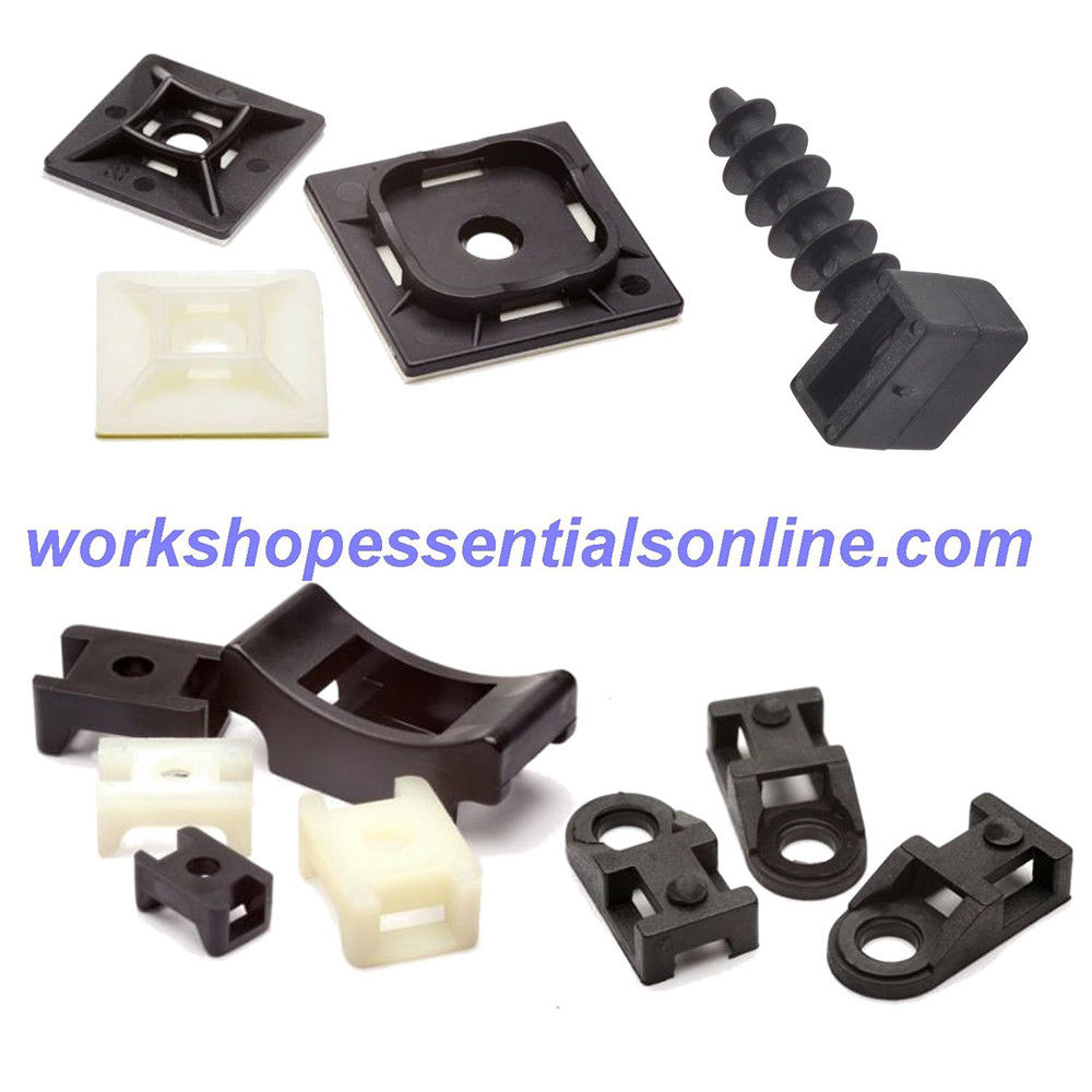 Cable Tie Masonry Mounts Fittings Max Cable Tie Width 9mm