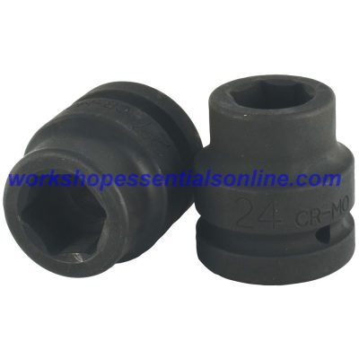 "1"" Drive 27mm Impact Socket 6 Point Trident T950027"