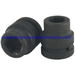 "1"" Drive 38mm Impact Socket 6 Point Trident T950038"
