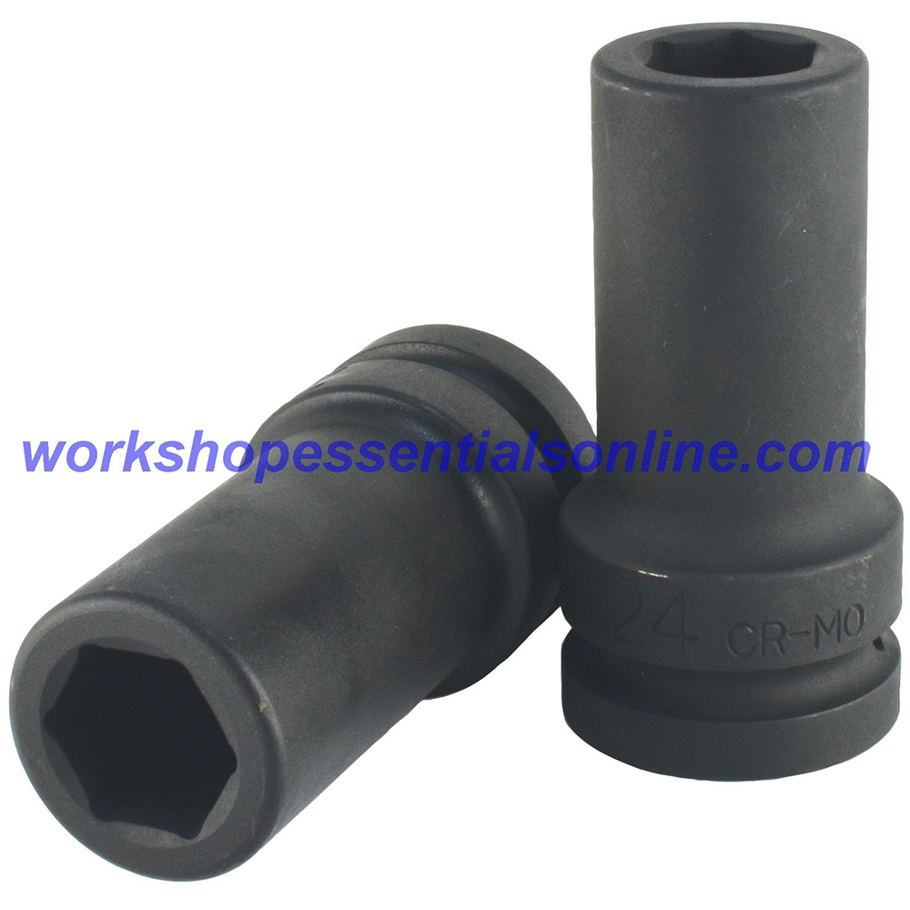 "1"" Drive 46mm Deep Impact Socket 6 Point Trident T950146"