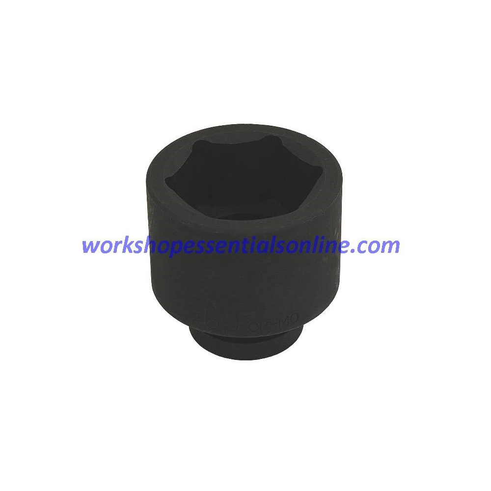 """1"""" Drive 50mm Impact Socket 6 Point Trident T950050"""