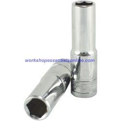 "10mm 1/2"" Drive Deep 6 Point Socket 75mm Long Signet S13410"