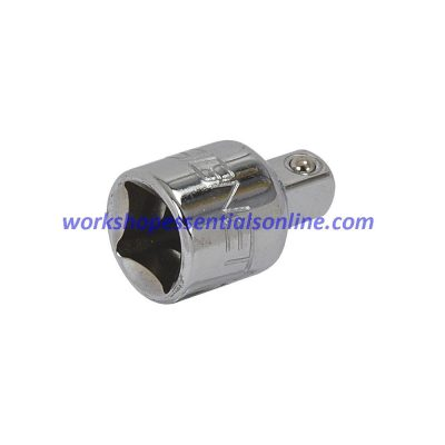 "1/2""-3/8"" Drive Reducer Signet Tools S13510 in Polished Chrome Vanadium"