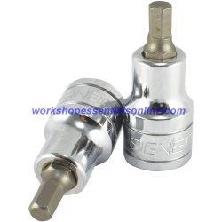 "1/2"" Drive 12mm Hex Bit/Allen Socket Signet S23892 Professional Quality Tools"