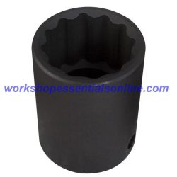 """1/2"""" Drive 15mm Impact Socket 12 Point Trident T933015"""