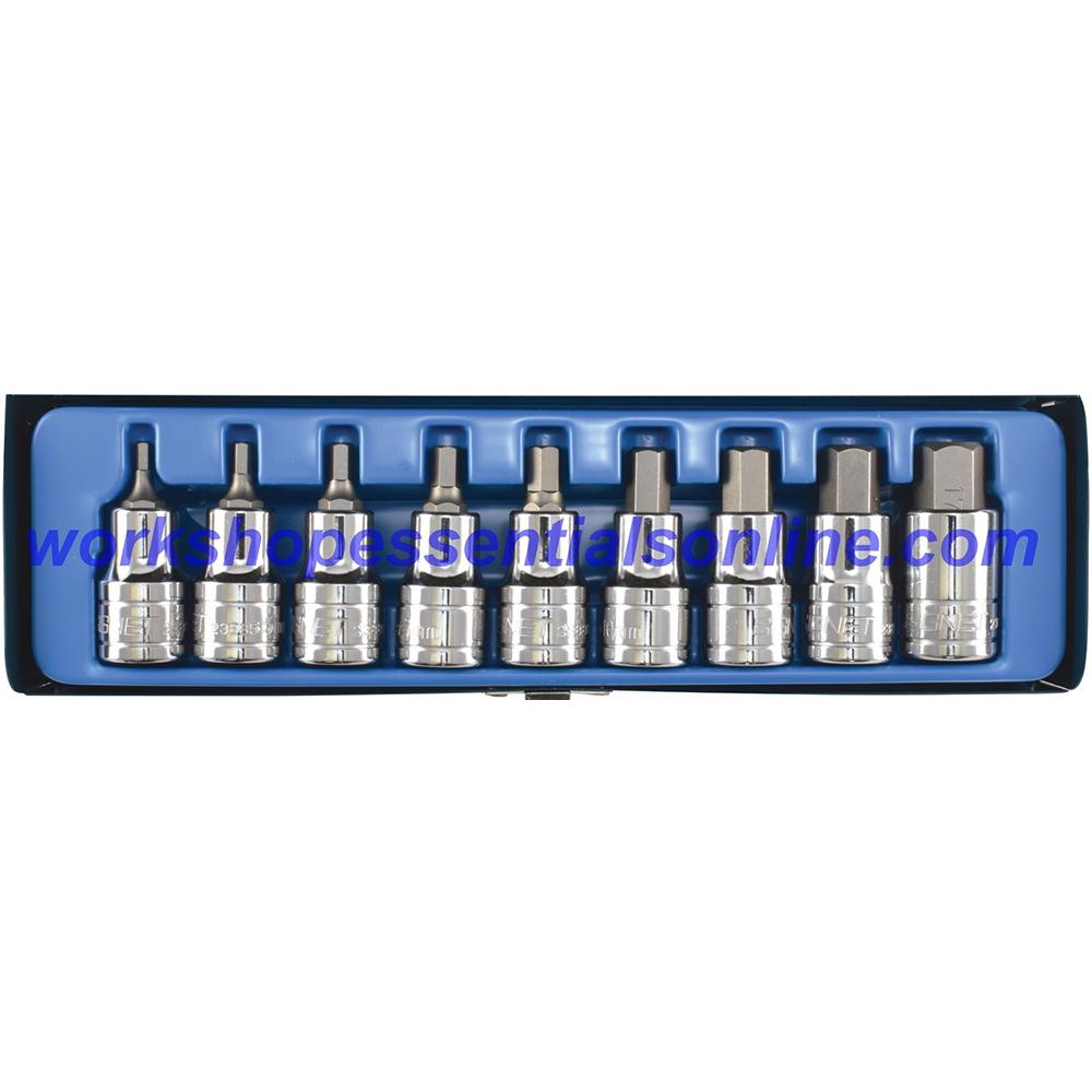 "1/2"" Drive 17mm Hex Bit/Allen Socket Signet S23897 Professional Quality Tools"