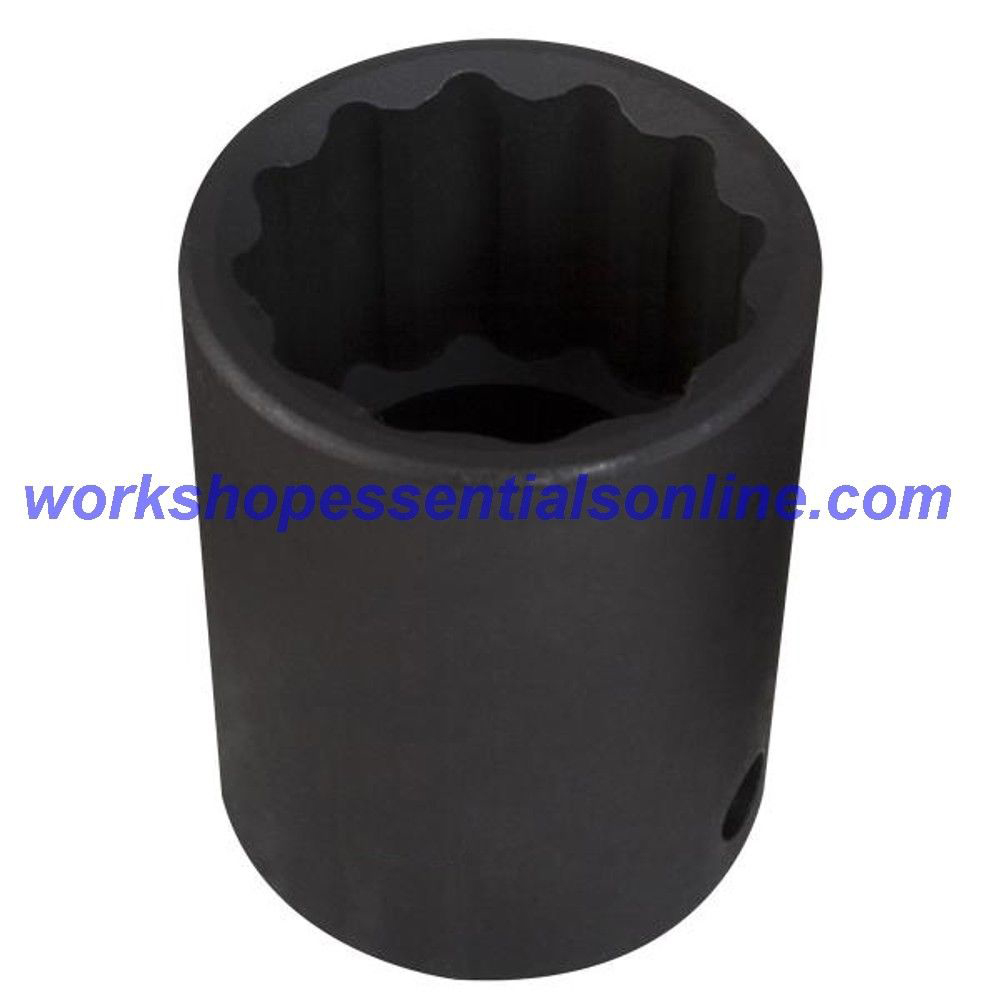 """1/2"""" Drive 17mm Impact Socket 12 Point Trident T933017"""