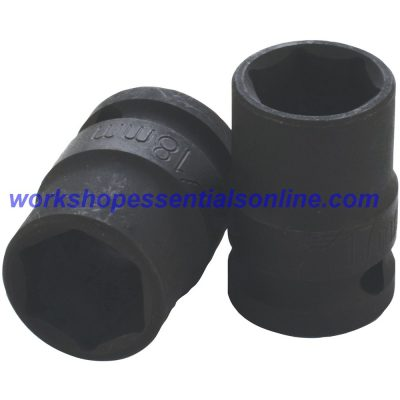 "1/2"" Drive 32mm Standard Impact Socket 6 Point 38mm Deep Trident T930032"