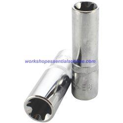 """1/2"""" Drive E20 Deep E-Torx Socket Trident T130620 Free P&P"""