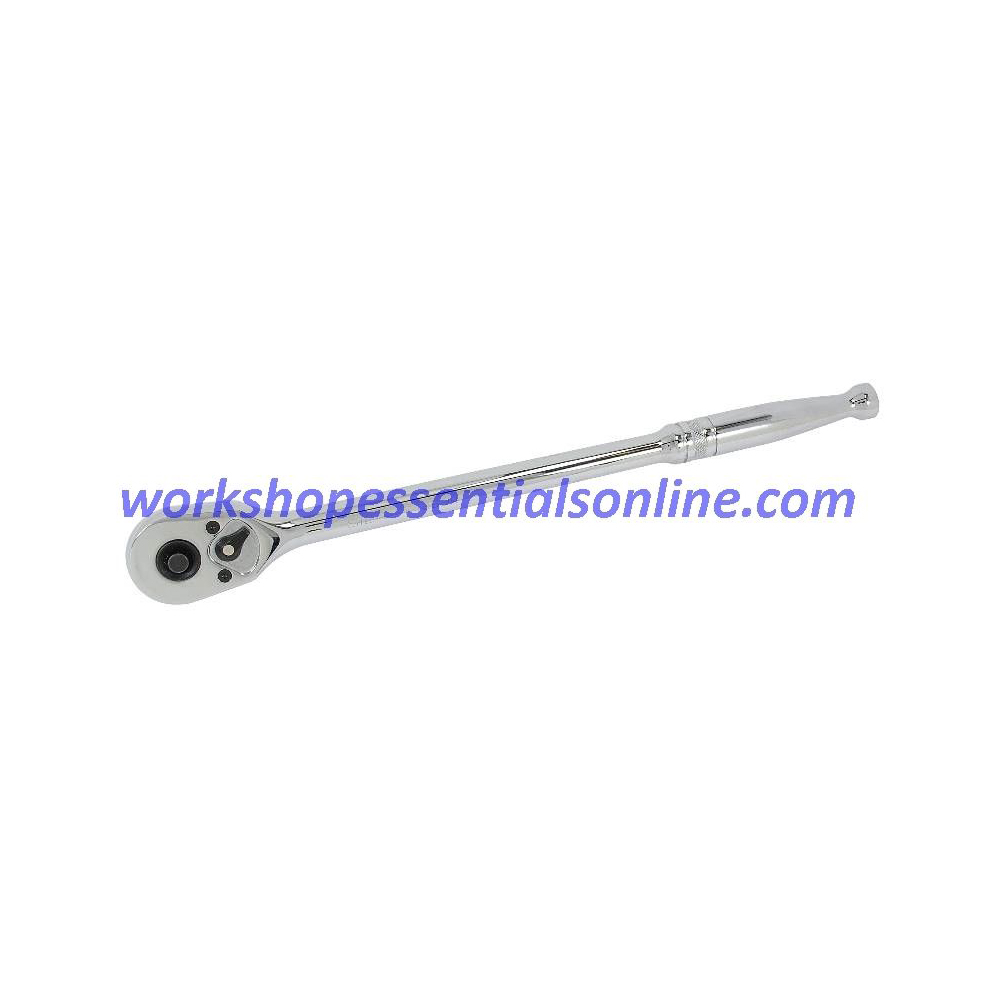 """1/2"""" Drive Extra Long Quick Release Ratchet 42 Tooth Length 350mm Signet S13534"""