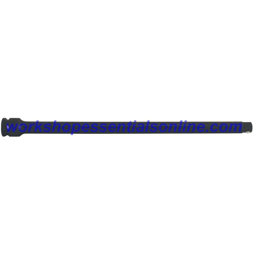"1/2"" Drive Impact Socket Set Short & Deep + Extensions & UJ 24pc Trident T935010"