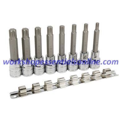 "1/2"" Drive M7 Ribe Bit Socket 100mm Long Signet S23981 Quality Tools"