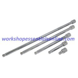 "1/2"" Drive Wobble Extension Set Trident T132700 5pc 50, 125, 250, 375 & 500mm"