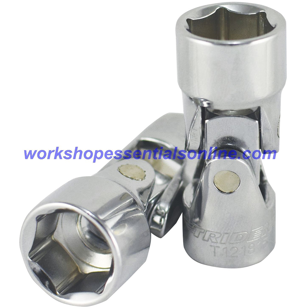 """12mm 3/8""""drive Universal Joint Socket Trident T121812 Free P&P"""