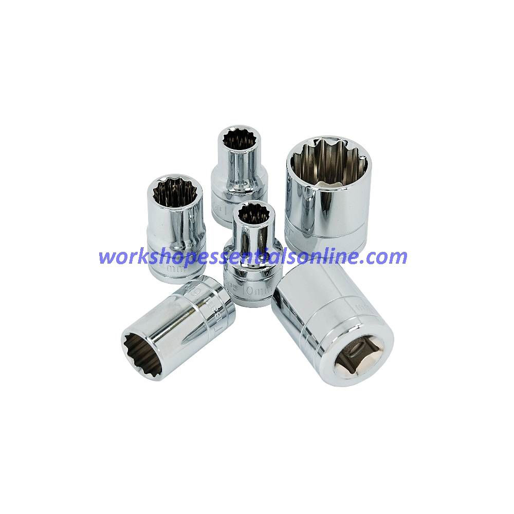 "12mm Socket 3/8"" Drive Standard Length 12 Point Signet S12367"