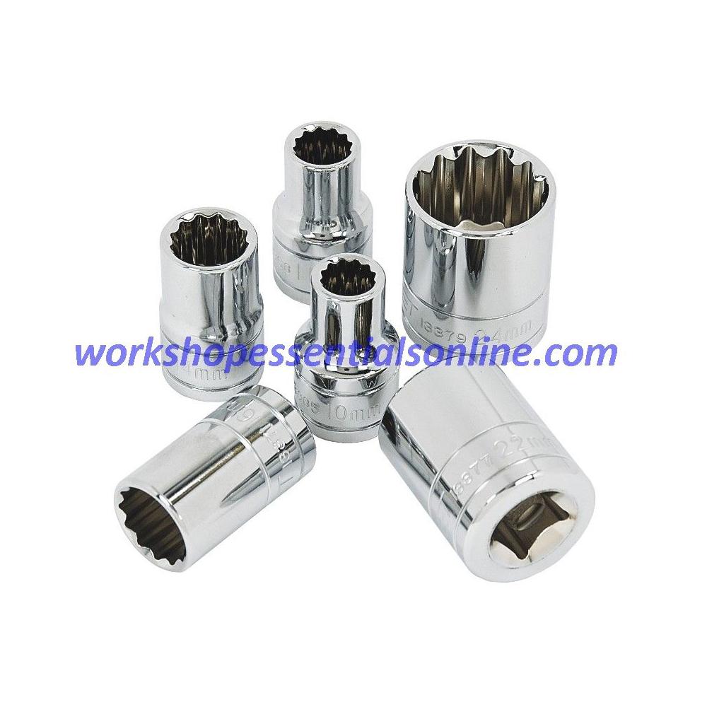 "13mm Socket 1/2"" Drive Standard Length 12 Point Signet S13368"