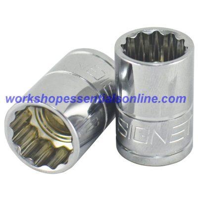 "13mm Socket 3/8"" Drive Standard Length 12 Point Signet S12368"