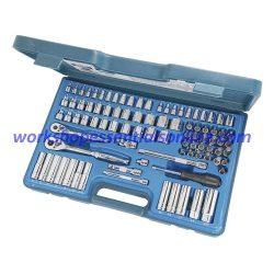 "1/4"" & 3/8""dr Metric & SAE Socket & Accessory Set 90 Piece Signet S12890"