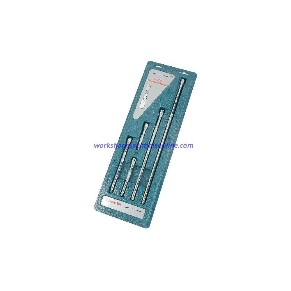 "1/4"" Drive Extension Set Signet S11576 5pc 75mm, 100mm, 150mm, 250mm & 350mm"