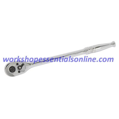"""1/4"""" Drive Extra Long Quick Release Ratchet 42 Tooth Length 200mm Signet S11534"""