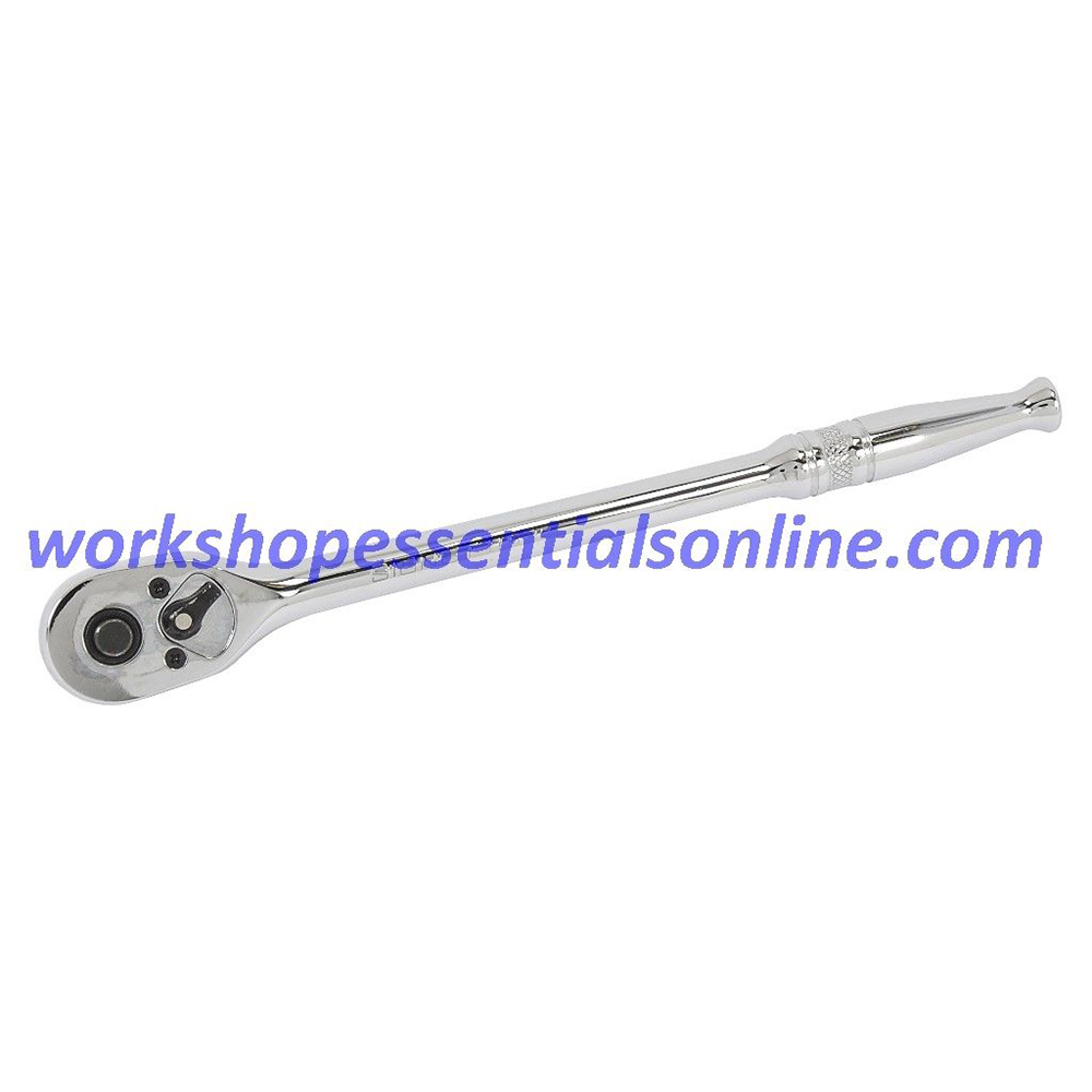 "1//4/"" Drive Extra Long Quick Release Ratchet 42 Tooth Length 200mm Signet S11534"