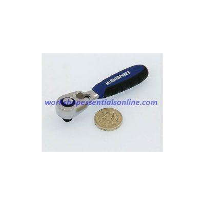 1/4 Drive Mini/Stubby Quick Release Ratchet Signet S11536