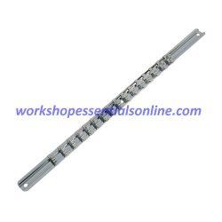 1/4 Drive Socket Rail & 16 Clips Trident T114000