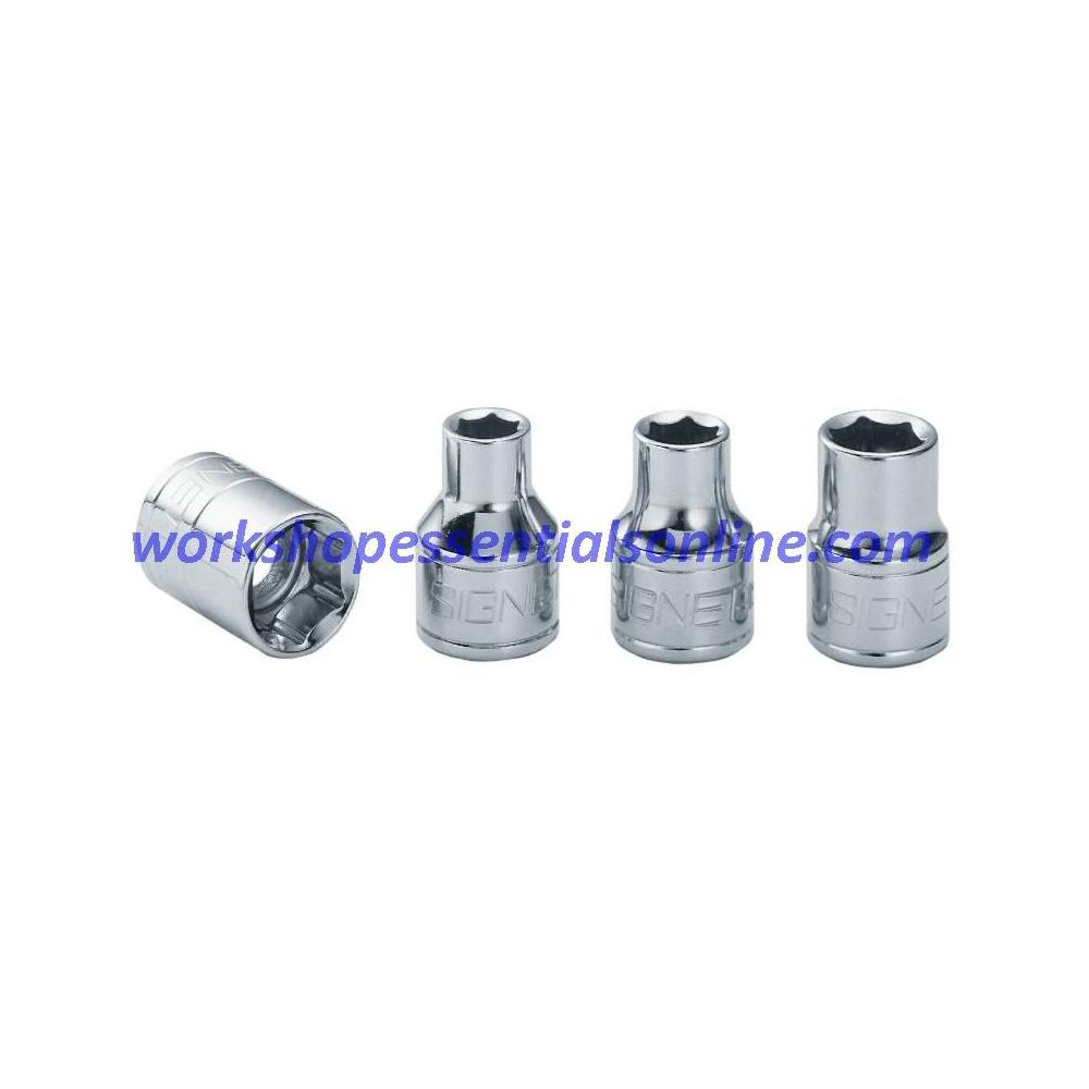 "15mm Socket 3/8"" Drive Standard Length 6 Point Signet S12315"