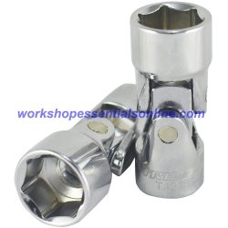 "16mm 3/8""drive Universal Joint Socket Trident T121816 Free P&P"