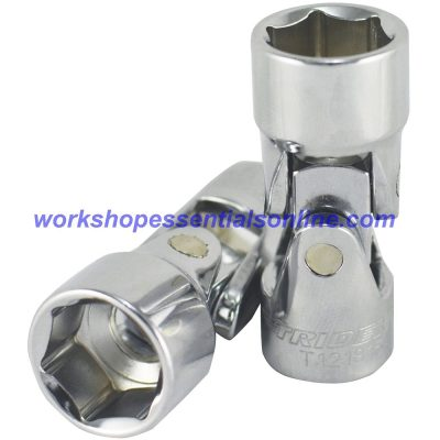 "19mm 3/8""drive Universal Joint Socket Trident T121819 Free P&P"