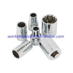 "22mm Socket 1/2"" Drive Standard Length 12 Point Signet S13377"
