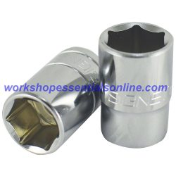 "22mm Socket 1/2"" Drive Standard Length 6 Point Signet S13322"