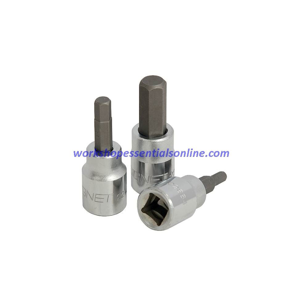 "2.5mm Hex Key Socket 3/8"" Drive Signet S22882"