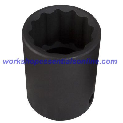 """3/4"""" Drive 25mm Impact Socket 6 Point Trident T940025"""