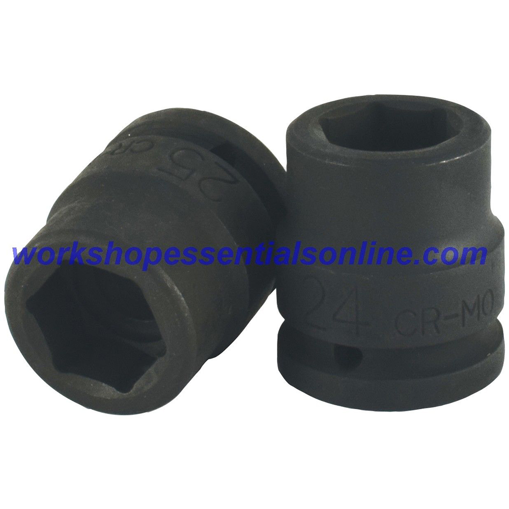 """3/4"""" Drive 50mm Impact Socket 6 Point Trident T940050"""