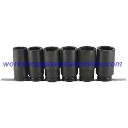 "3/4"" Drive Deep Hub Nut Impact Socket Set Trident T940000"