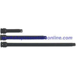 "3/8"" Drive Impact Extension Set 3 Piece 75, 150 & 250mm Trident T922600"