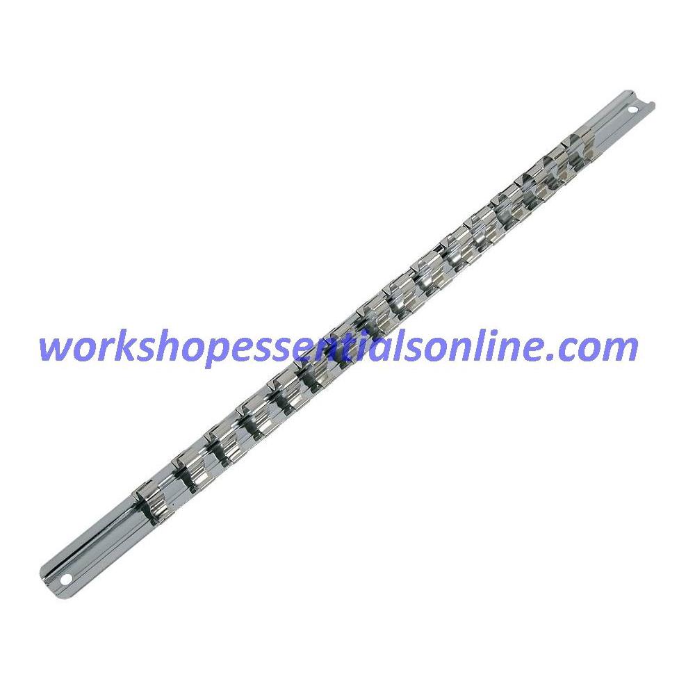 3/8 Drive Socket Rail & 16 Clips Trident T124000
