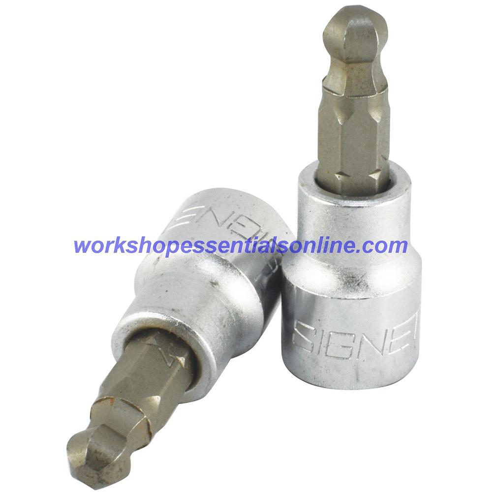 "3mm Ball Hex Key Socket 3/8"" Drive Signet S22983"