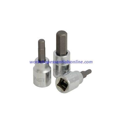 "4mm Hex Key Socket 3/8"" Drive Signet S22884"