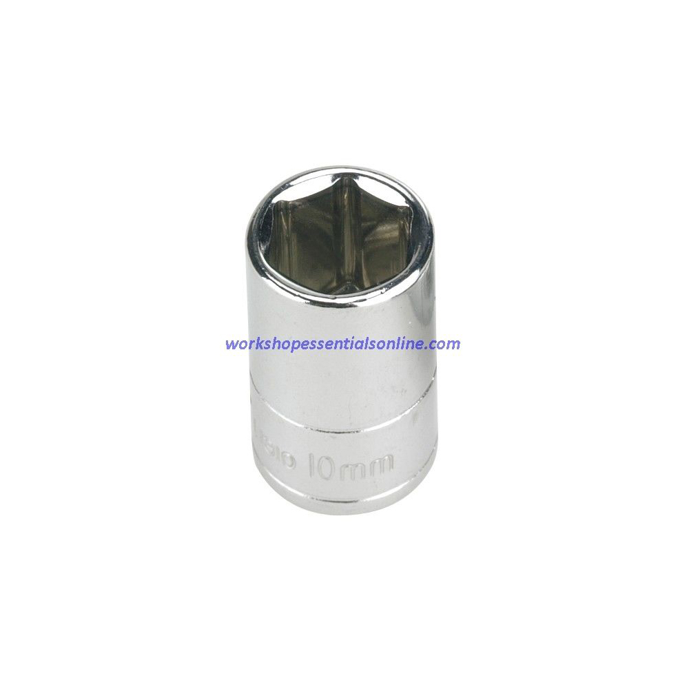 "4mm Socket 1/4"" Drive 6 Point Signet S11304"