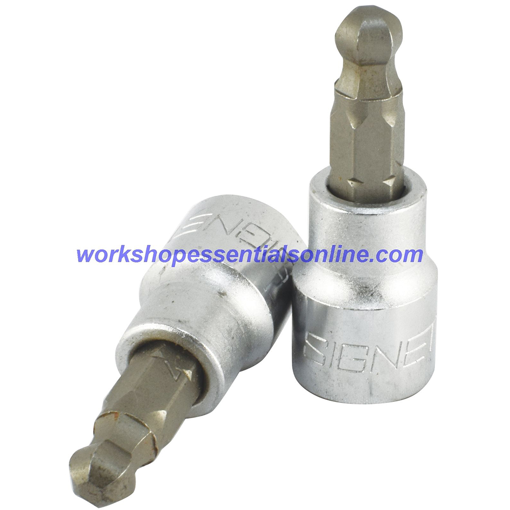 "5mm Ball Hex Key Socket 3/8"" Drive Signet S22985"