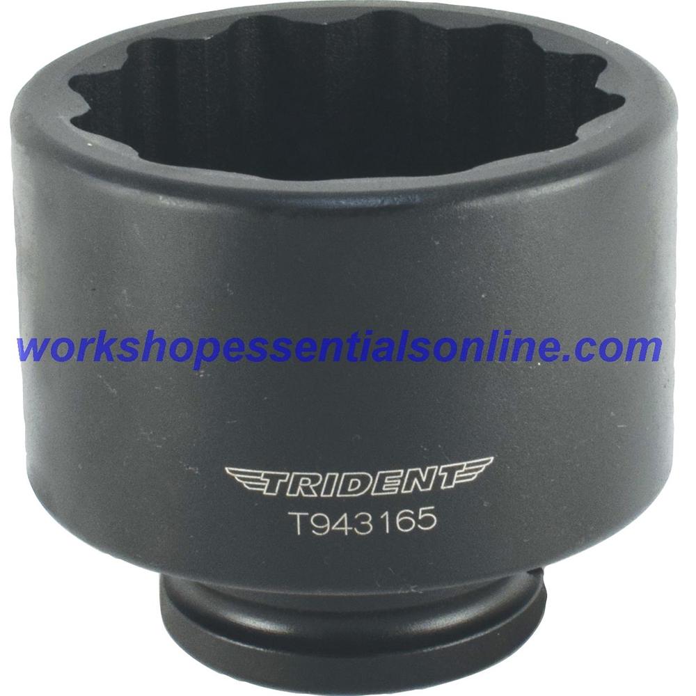 """65mm Hub Nut Socket 3/4"""" Drive Impact Trident T943165"""