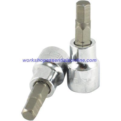 "6mm Hex Key Socket 3/8"" Drive Signet S22886"