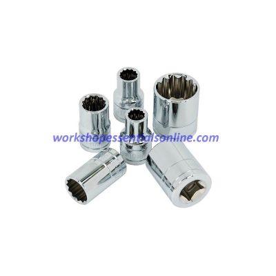 "8mm Socket 3/8"" Drive Standard Length 12 Point Signet S12363"
