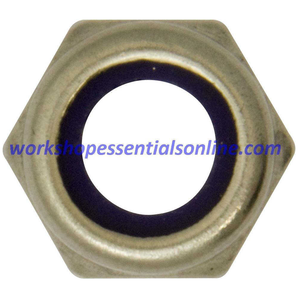 A2 Stainless Steel Nyloc Nuts M3 M4 M5 M6 M8 M10 M12- Nylon Insert Lock Nut