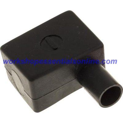 Battery Terminal Covers Pack of 10 Negative Black (RH) L-Shaped BTC3