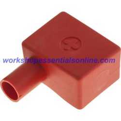 Battery Terminal Covers Packs of 10 Positive Red (LH) L-Shaped BTC4