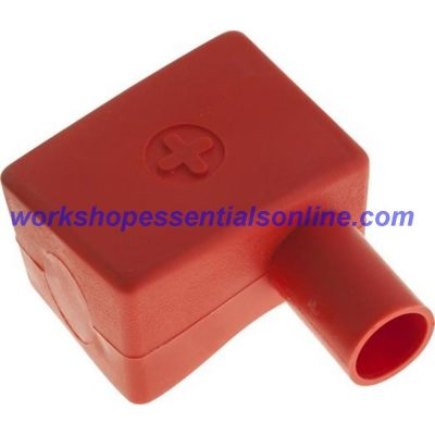 Battery Terminal Covers Packs of 10 Positive Red (RH) L-Shaped BTC2