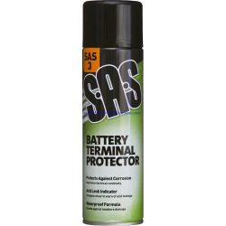 Battery Terminal Protector Spray 500ml Tin SAS3 Corrosion Preventer Leak Detect